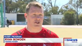 Nine News Canberra Modified Rugby Program coming to the Vikings