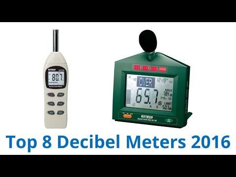 8 Best Decibel Meters 2016