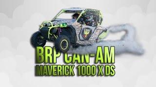 Обзор и тест-драйв BRP Can-Am Maverick 1000 X DS К Лютая багги - тачка