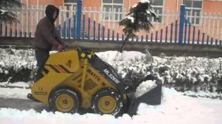 Snow moving,SHK Equipment mini skid steer loader
