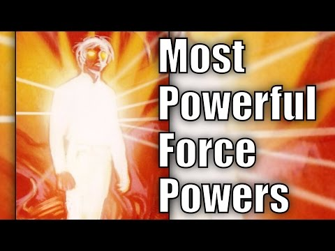 The Most Powerful Force Abilities and Powers - Star Wars