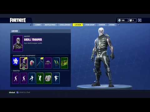 How To Get The Skull Trooper Or Any Character FREE In Fortnite *Working JUNE 2018*