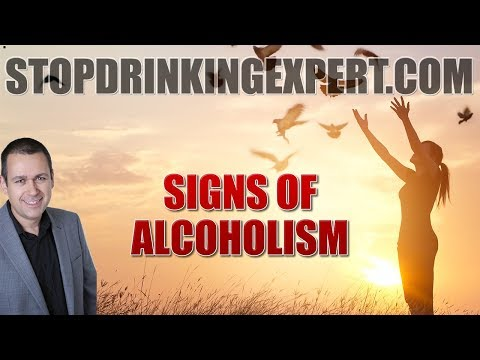 Signs Of Alcoholism What Are They