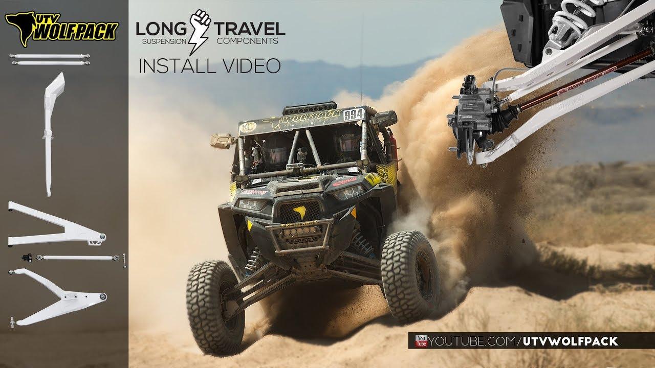 UTV Wolfpack Long Travel kit Installation