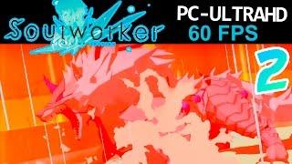 SOULWORKER ONLINE OPEN BETA JAPON PARTE 2 PRIMER BOSS | ANIME MMORPG