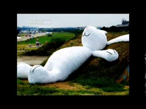 Big Yellow Duck creator makes Moon Rabbit