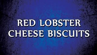 Red Lobster Cheese Biscuits | RECIPES | EASY TO LEARN