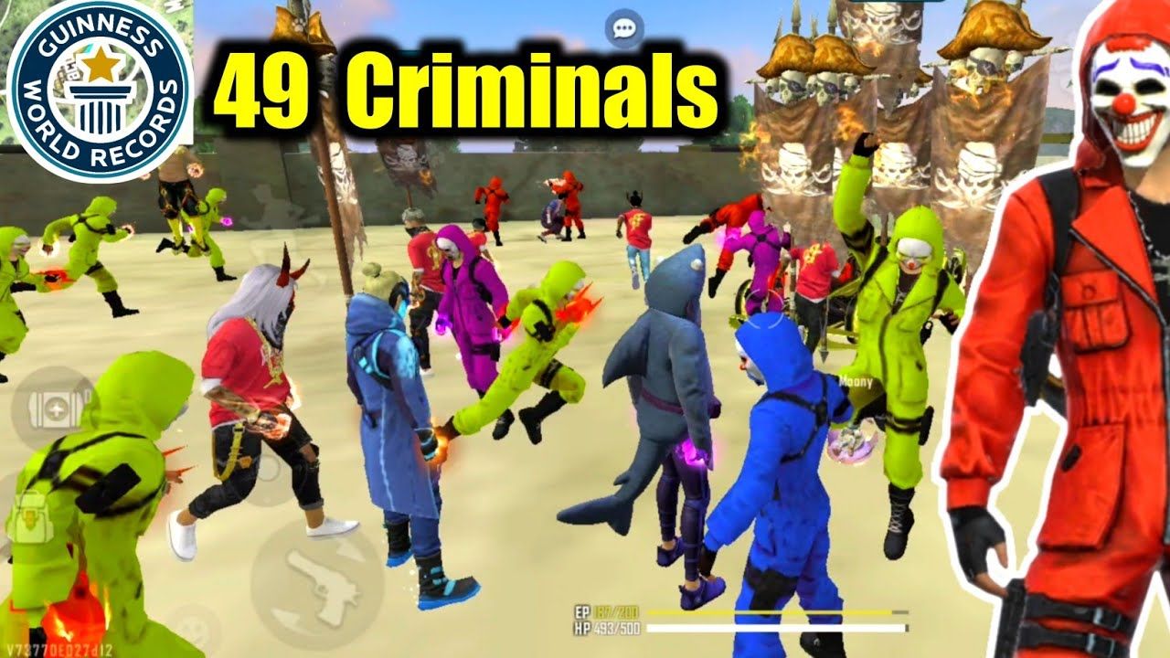 World Record 49 Criminals & Hip Hop on Factory Roof😵🔥WTF Funny Moments😂!!