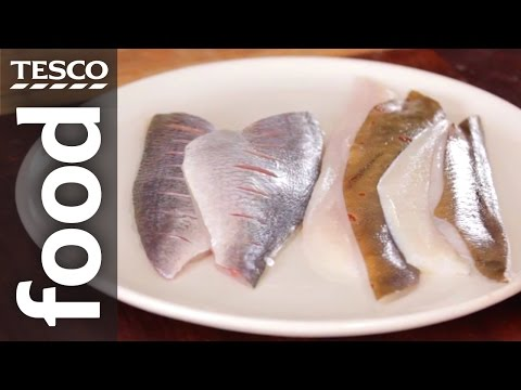 How To Fillet A Flat Fish | Tesco Food