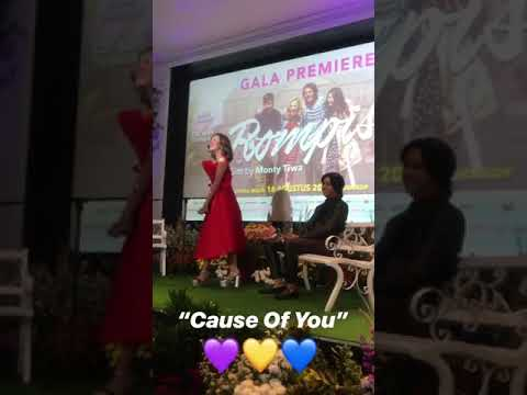 "Ost rompis the movie ""Cause of you"" -beby tsabina"