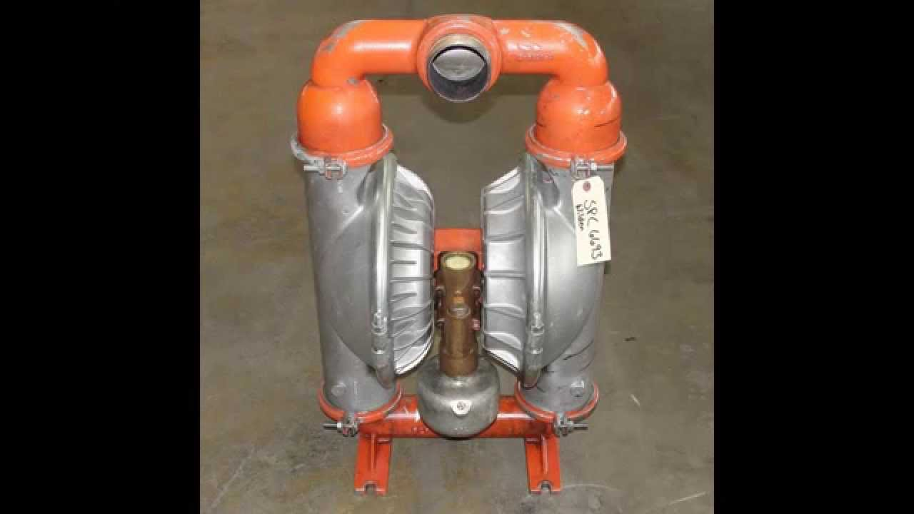 Wilden 3 Aluminum Diaphragm Pump Model M15 Youtube