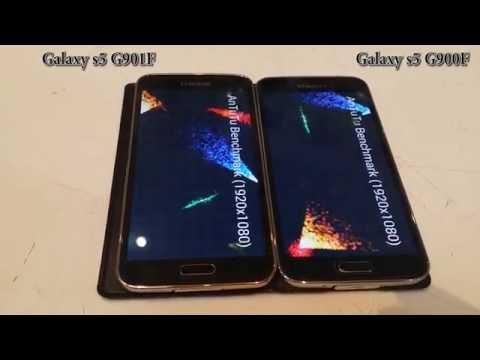 Samsung Galaxy s5 plus G901F vs Samsung Galaxy s5 G900F