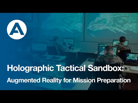 Holographic Tactical Sandbox: Augmented Reality for Mission Preparation