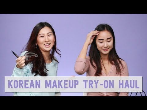 Makeup Haul - Try On   Clio collab with Coffee & Cashmere