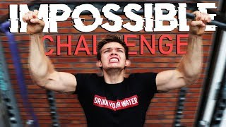 The IMPOSSIBLE Pull Up CHALLENGE! (Can you do just ONE?)