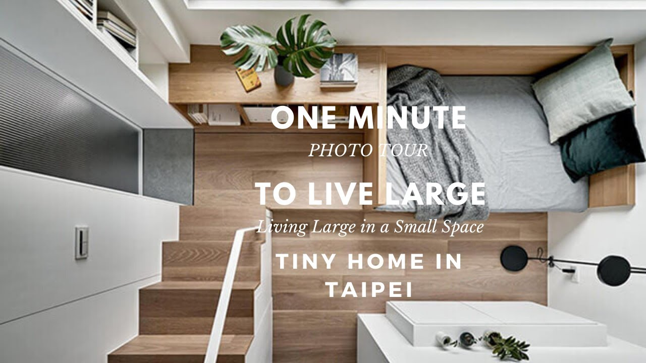 Tiny Home In Taipei To Live Large Youtube