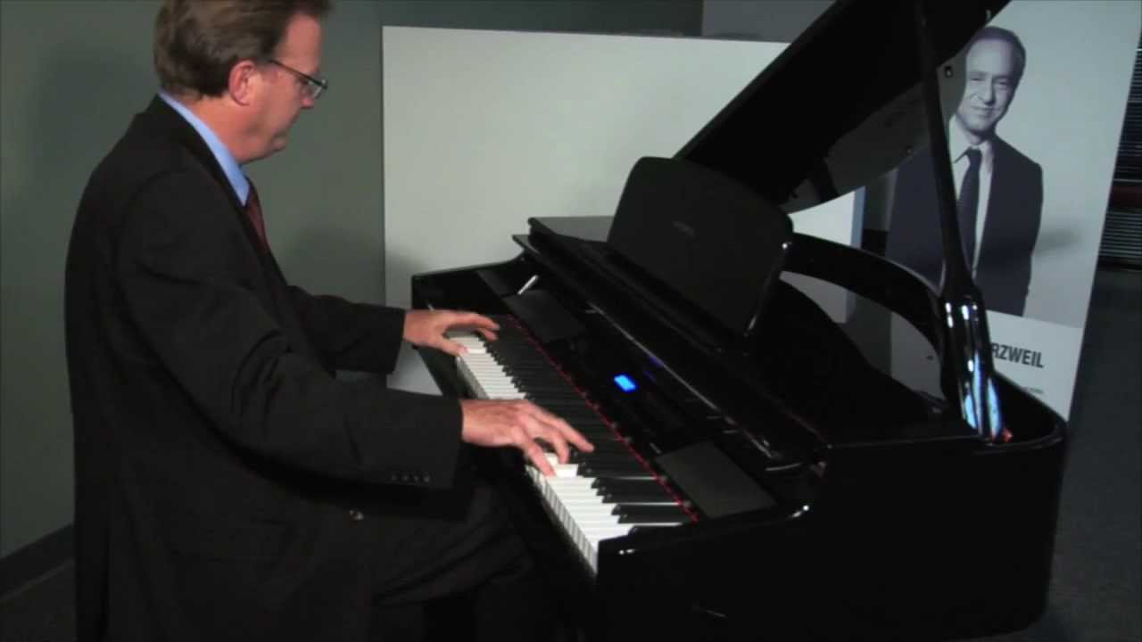 new kurzweil mpg200 digital grand piano youtube. Black Bedroom Furniture Sets. Home Design Ideas