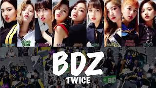 【歌詞】BDZ/TWICE/Bulldozer/ブルドーザー/トゥワイス/트와이스/歌詞/パート