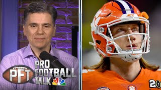 Race for Trevor Lawrence may come down to Jets vs. Giants | Pro Football Talk | NBC Sports