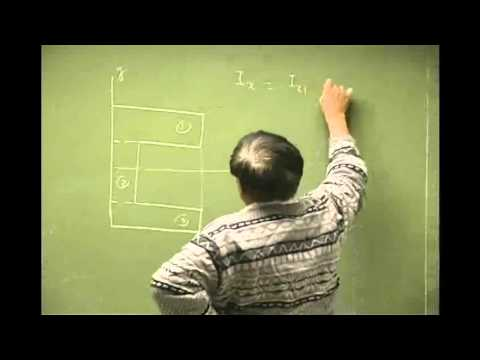 Moment of Inertia Composite Section Method Example Part A