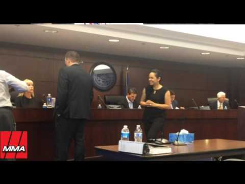 Conor McGregor Nevada Athletic Commission Hearing - PART 1
