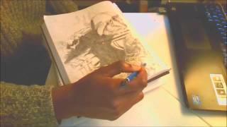 How to draw hulk (hulk comic sketch) Hulk battle drawing