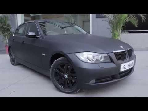 Matte Black BMW >> Bmw 3 Series Wrapped In Matte Black