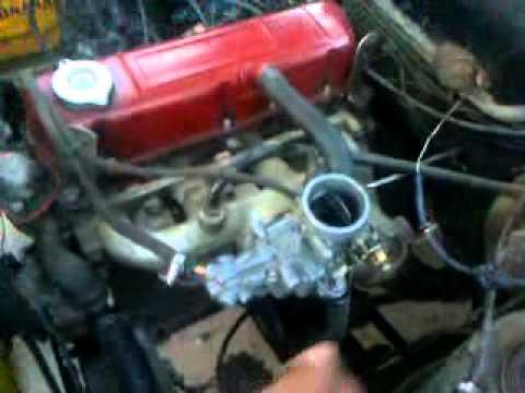 dodge  motor    carburador de renault  youtube