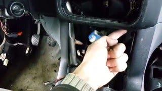Как снять переключатель света и переднюю торпеду на BMW E36