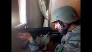 Sniper vs Sniper Army troops Bashar al-Assad depicts the same moment he was killed 2017 Video