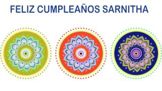 Sarnitha   Indian Designs - Happy Birthday