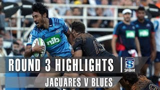 ROUND 3 HIGHLIGHTS: Jaguares v Blues - 2019