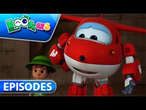【Official】Super Wings - Episode 12