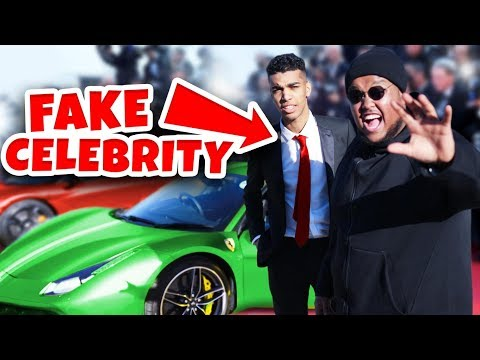 FAKE CELEBRITY PRANK At FILM AWARDS