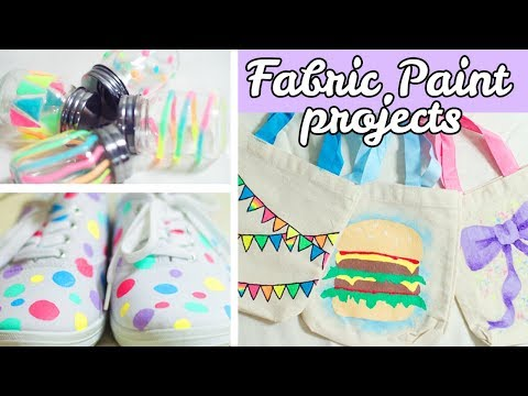 What to Make With Fabric Paint