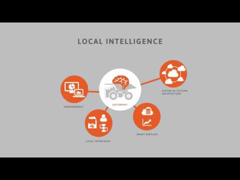 Distence Concept Animation Industrial Assets Distributed Intelligence