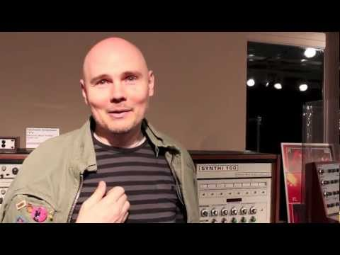 Billy Corgan at the National Music Centre