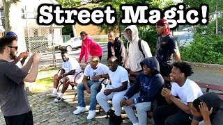 Crazy Street Magic Reactions!
