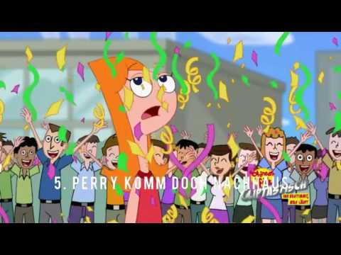 TOP 5 - Phineas und Ferb Songs