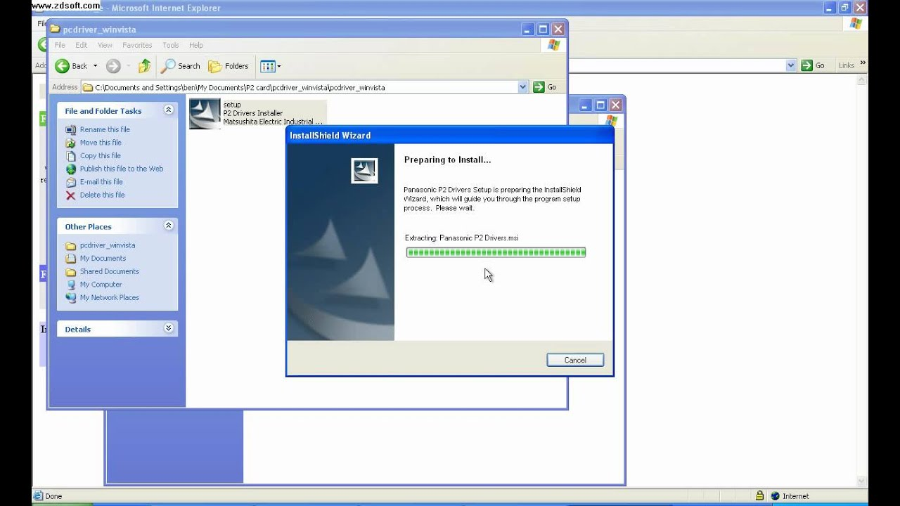 Panasonic aj-pcd2 driver download.