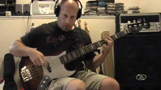 Mastodon - The Wolf Is Loose - Bass Cover