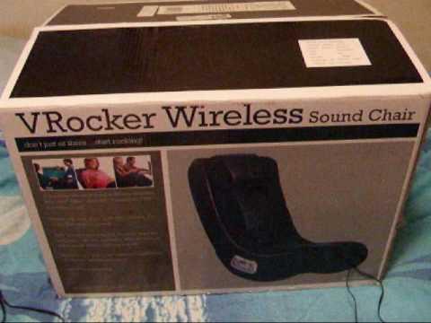 V Rocker Wireless Sound Chair By Ace Bayou