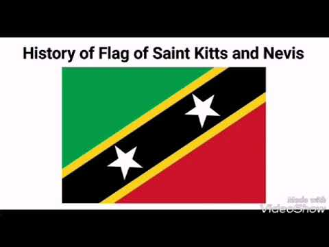 History of Flag of Saint Kitts and Nevis