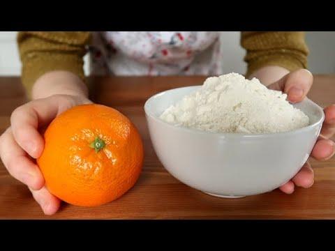 petits-biscuits-moelleux-avec-1-orange-entière,-farine,-sucre,-huile-/-recette-simple-et-rapide-👍🔝