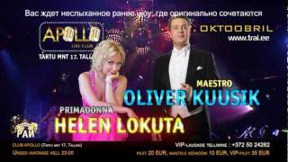 TANTSUPARADIIS 32 (Танцевальный Pай 32) - 7.oktoobril 2011 Club APOLLO reklaam