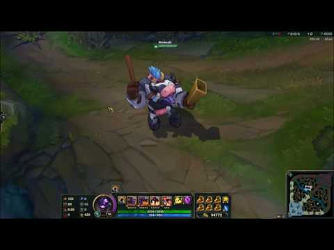 [3/10 PBE] Moo Cow Alistar /dance and recall SFX