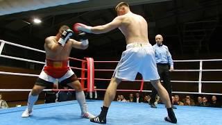 Бокс Александр Захожий Zakhozhyi vs. Janjanin 1 Round 11 11 2017 Berlin