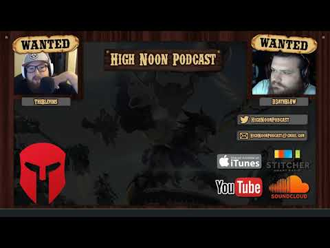 High Noon Podcast 092 - Community OWL Power Rankings