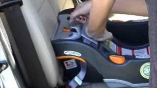 Chicco KeyFit Car Seat Installation