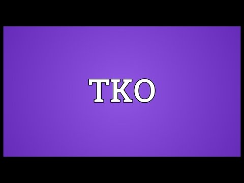 TKO Meaning